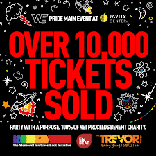 Javits Center Seating Chart Tickets For We Pride Massive Main Event At The Javits Center