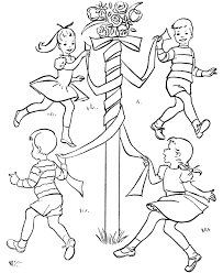 Small Picture May Day Coloring Pages Coloring Home