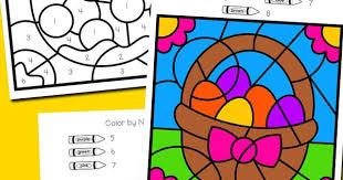 We hope you guys liked it. Easter Color By Number Totschooling Toddler Preschool Kindergarten Educational Printables
