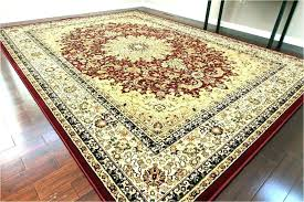 outdoor carpet rugs at round solid colored area red 10x14 perfect indoor a