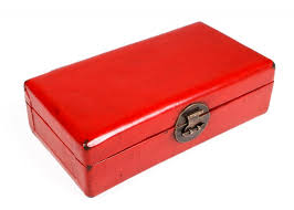 red lacquered furniture. SOLD - Red Lacquered Leather Box, Shanxi Province C19th Furniture