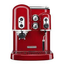 kitchen aid coffee maker pro line series cup espresso coffee maker w milk red kitchenaid personal