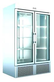 used glass door merchandiser single door glass display freezer certified owned freezer glass door merchandiser used