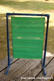 How To Make A Pvc Pocket Chart Stand Pin On School Ideas