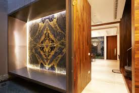 Small Picture Feature wall design Using stones such as marble and quartz on