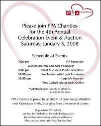 silent auction program template fundraising event program sampl on free printable vip ticket access