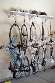 diy shelf bike rack