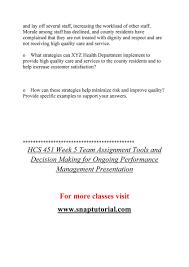 Ashford University Hcs 451 Course Marvelous Learning