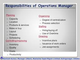 Operations Manager Duty - April.onthemarch.co