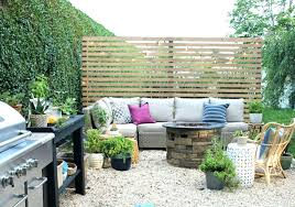 diy privacy screen outdoor deck fence