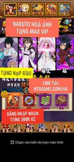 Naruto Hỏa Ảnh tặng MAX VIP - NTB Game