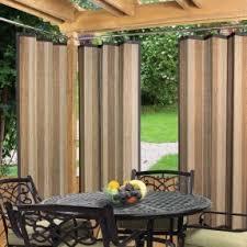 Outdoor bamboo screen