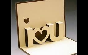 diy valentine s day pop up card diy anniversary cards gift idea handmade greeting card ideas
