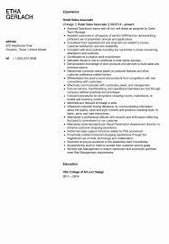 Retail Resumes Sales Associate Retail Sales Associate Resume Example Luxury Sales Associate Resume