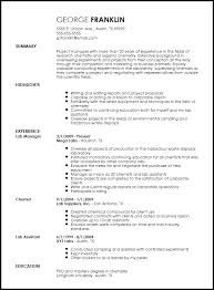 My Resume Template Cool Free Professional Chemist Resume Template ResumeNow