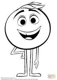 Small Picture Gene from Emoji Movie coloring page Free Printable Coloring Pages