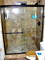 frameless glass shower doors cost full size of large walk in in glass shower enclosures glass