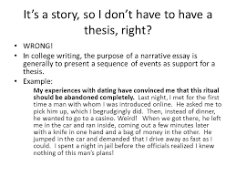 Patterns For College Writing Gorgeous Narration Adapted From Patterns For College Writing Ppt Download