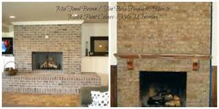 how to match paint colorshow to match wall paint colours to brown and tan toned brick fireplace