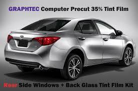 Car Window Tint Film Kit 35 Light Smoke Amazon Com 96 97 Honda Accord 5d Wagon 35 Vlt Smoke Rear
