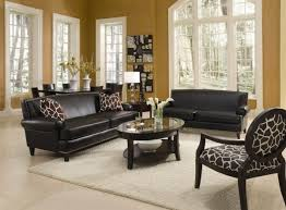 stylish living room with accent chairs living room with leather furniture sets and decorative accent
