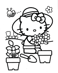 Hello Kitty Dot To Dot Coloring Pages Hello Kitty Coloring Page