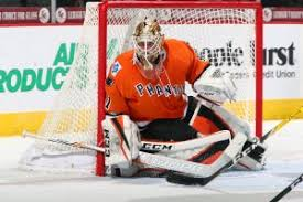 new jersey stolarz is in the midst of his third professional caign and has produced an 18 9 overall record in 28 appearances with lehigh valley this