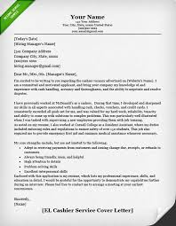 How To Make A Resume Cover Letter New Retail Cover Letter Samples Resume Genius