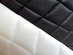 "Amazon.com: 1 X Vinyl Quilted Black Fabric w/ 3/8  Foam Backing ... & 1 X Vinyl Quilted Black Fabric w/ 3/8"" Foam Backing Upholstery By Adamdwight.com"