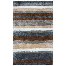 rizzy home commons multicolor polyester 8 ft x 10 ft area rug