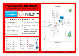 Evacuation Plan Sample Emergency Evacuation Plan Template Childcare Emergency
