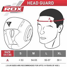 Boxing Head Guard Size Chart Rdx Products Size Charts Measurement Guide