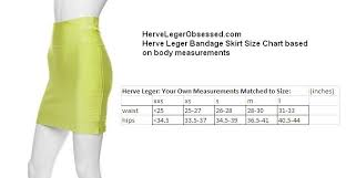 Bcbg Power And Herve Leger Bandage Skirt Sizing Guide