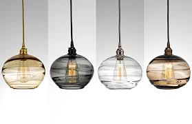 pendant glass lighting. Artisan Blown Glass Lighting Hammerton Studio Regarding Pendant Light Decorations 9
