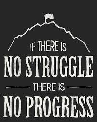 Progress Quotes Unique No Struggle No Progress Quote From Frederick By Sunnychampagne