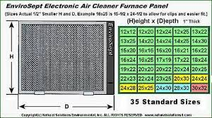 Envirosept Electronic Furnace Air Cleaner Free Shipping