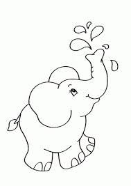 25 Printen Kleurplaat Baby Olifant Mandala Kleurplaat Voor Kinderen
