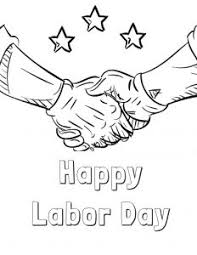 Small Picture Labor Day Coloring Pages Free Printable FYI by Tina