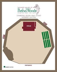 Bethel Woods Center Seating Chart Seating Charts Bethel Woods Center For The Arts