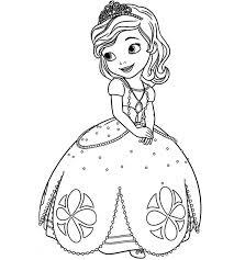 Planșe de colorat pentru fete de la 2 la 15 ani. Plansedecoloratcuprintese Desenedecoloratcuprintese Printesa Print Princesa Sofia Para Colorir Desenhos Para Colorir Princesas Desenho Da Princesa Sofia