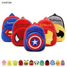 <b>2019</b> Cartoon Kids <b>Plush Backpacks</b> Mini schoolbag Mickey <b>Plush</b> ...