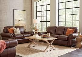 Oversized Living Room Furniture Sets Chesapeake Mocha Living Room Set Comfortable Seating Sofa Mocha