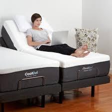 adjustable bed frame with massage. Wonderful Bed Adjustable Comfort Twin XLSize Bed Base In Frame With Massage O