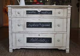white furniture paintBlackboard Paint DIY Modern Furniture Decoration in Black and