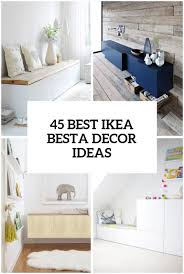 45 Ways To Use IKEA Besta Units In Home Décor - DigsDigs