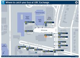 Translink Org Chart Ubcv Transit Update New Changes To Ubc Bus Exchange
