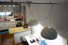 pendant rail lighting. For This, I Needed A Movable Light. Using KVARTAL Curtain Rails And Ceiling Fixtures, Could Make The BRASA Pendant Lamps Into Rail Lighting. Lighting