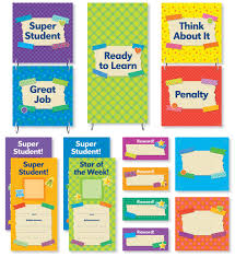 Tape It Up Behavior Clip Chart Mini Bulletin Board