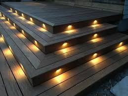 stair step lighting. 6/10/20X35mm Warm White LED Deck Stair Step Fence Lights Outdoor Path Lamp Decor Lighting