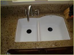 White Kitchen Sink Faucets Splendid Decorating Ideas Using Brown Brick Backsplash And Silver